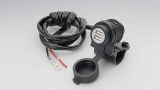 USBポートKIT USBx2 トータルDC5V/4A ハンドルクランプ