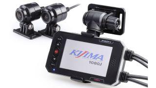 オートバイ専用 ドライブレコーダー 1080J  デュアルカメラ  前後Full HD